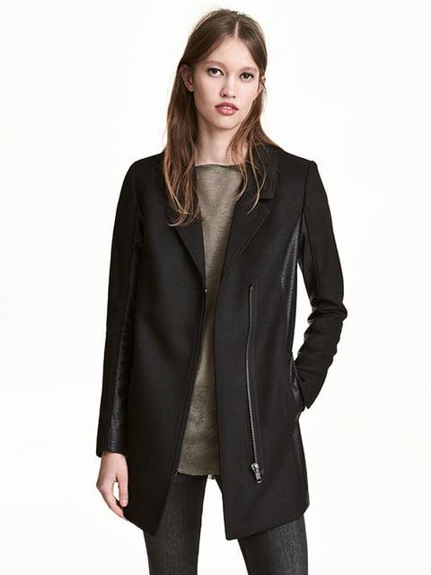 Пальто черное H&M 5169148