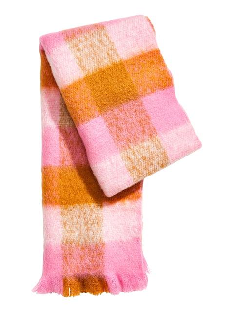 Шарф розовый H&M 5169186