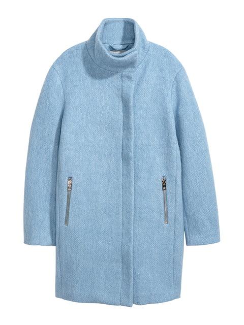Пальто голубое H&M 5169199