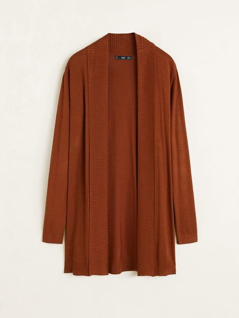 Кардиган коричневий Mango 5164513