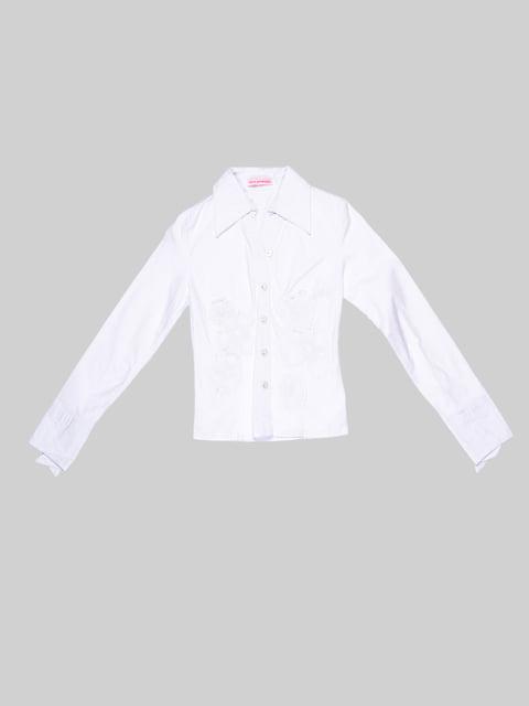 Блуза белая Hoo Ponette 2913344