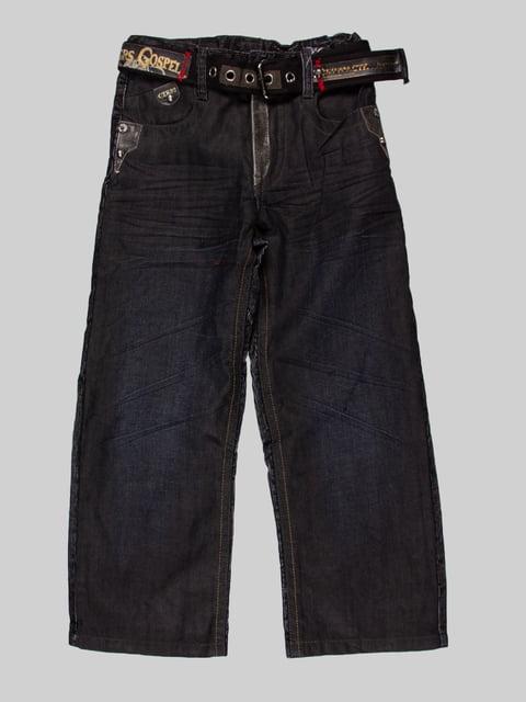 Джинси чорні CTK 4707691