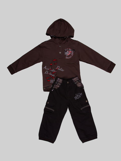 Комплект: толстовка и брюки CTK 5154264