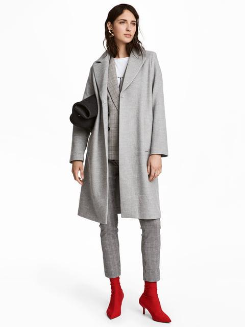 Пальто сіре H&M 5168429