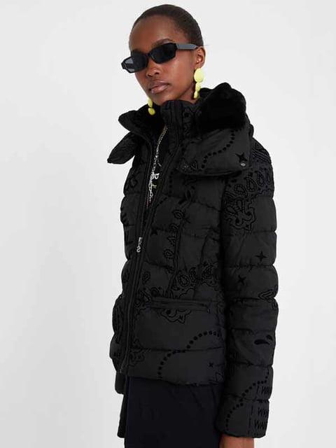 Куртка черная Desigual 5162954