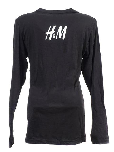 Лонгслив черный H&M 5170302