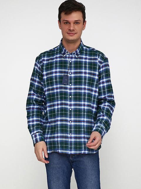 Рубашка сине-зеленая McNeal 5170308