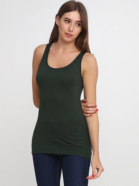 Майка темно-зеленая H&M 5170587