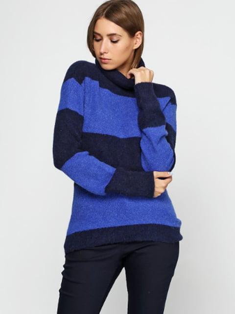 Свитер синий в полоску H&M 5170765