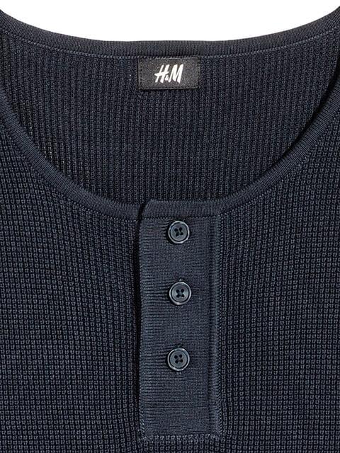 Джемпер темно-синий H&M 5170797