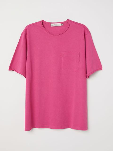 Футболка розовая H&M 5170812