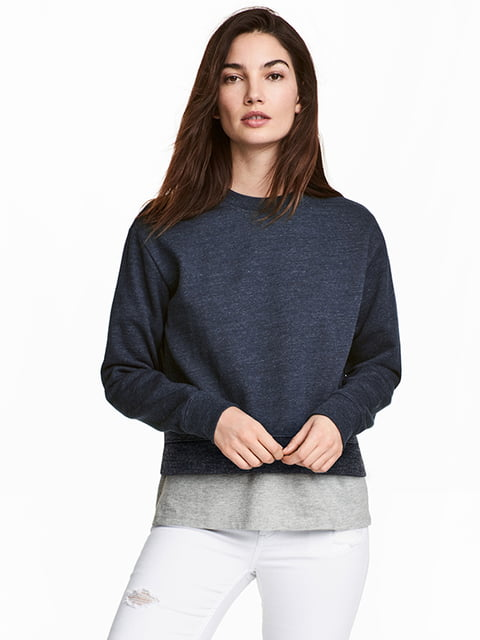 Джемпер темно-синий H&M 5170871