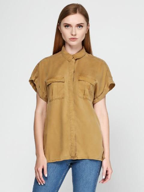 Рубашка горчичного цвета H&M 5171013