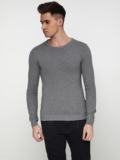 Джемпер серый Solid 5171628