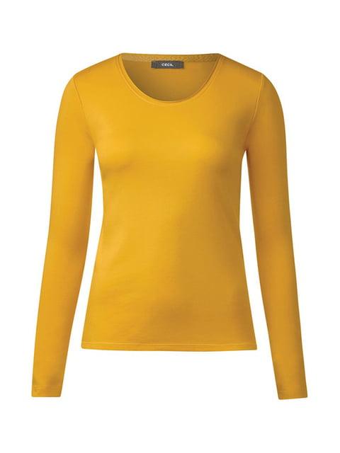 Лонгслив желтый Cecil 5171714