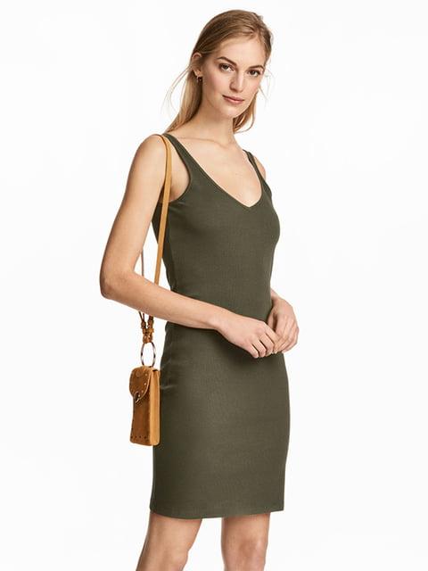 Платье цвета хаки H&M 5171791
