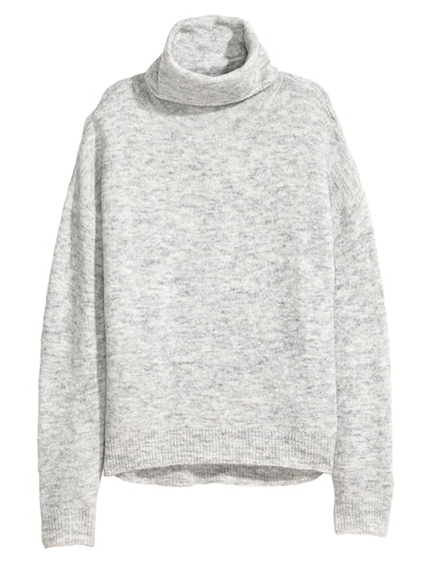 Свитер серый H&M 5172150