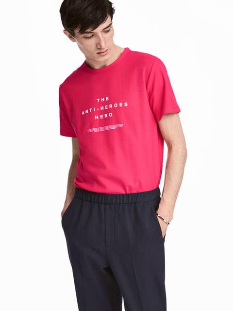Футболка розовая H&M 5172365