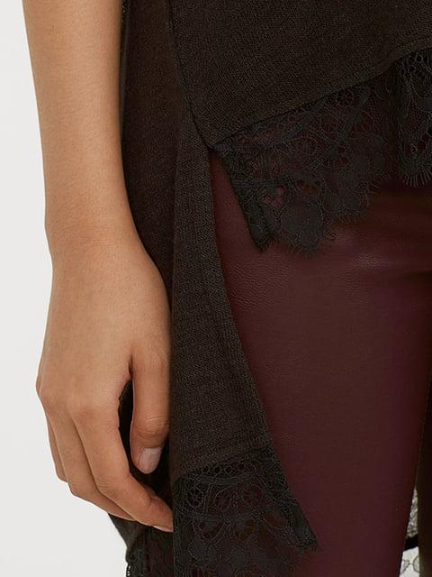 Пуловер черный H&M 5172451