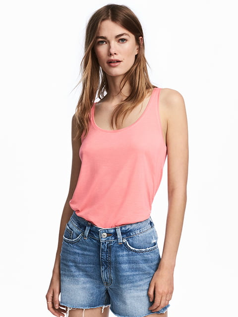 Майка розовая H&M 5172454