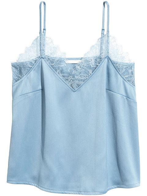 Майка темно-голубая H&M 5172754