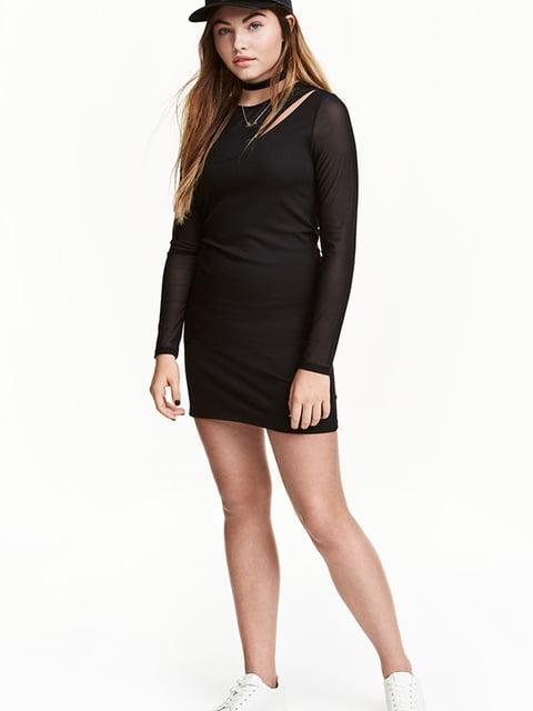 Платье черное H&M 5173070