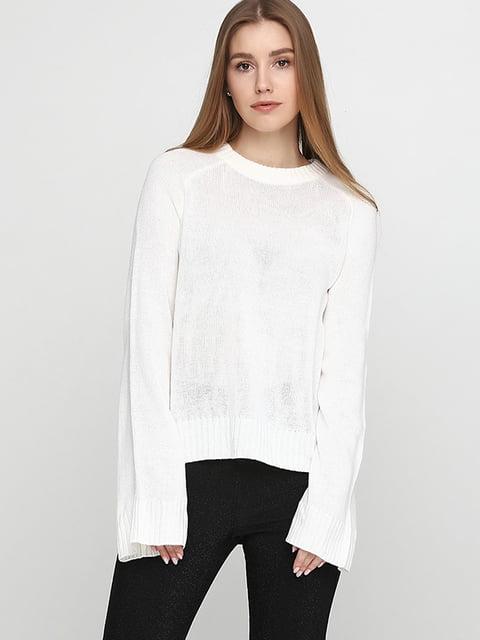 Джемпер белый H&M 5173312