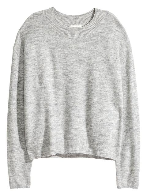 Джемпер серый H&M 5173385