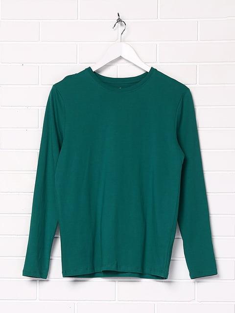 Лонгслив зеленый H&M 5173411
