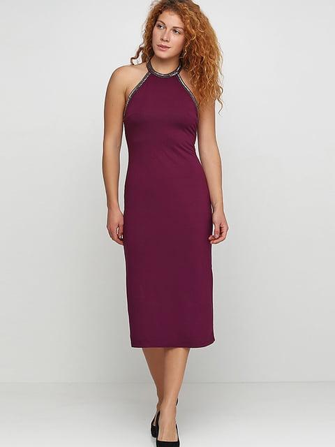 Платье пурпурного цвета H&M 5170536