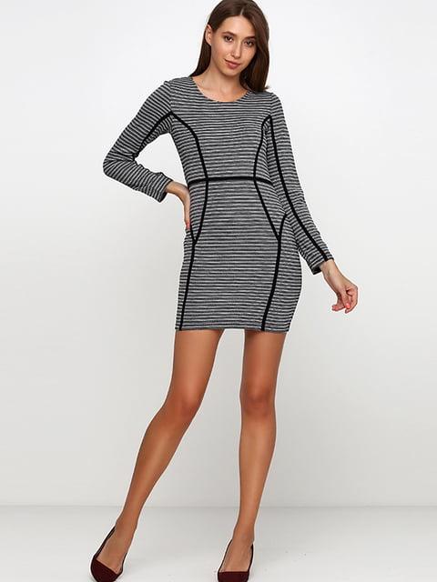 Платье черно-белое H&M 5170571