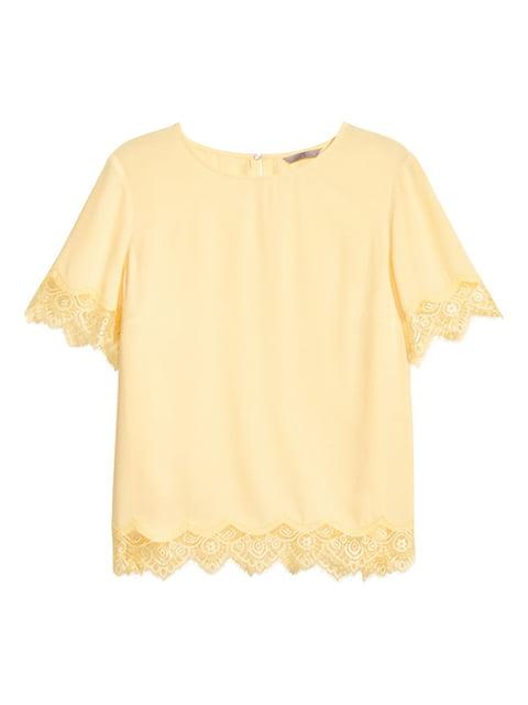 Блуза жовта H&M 5170916