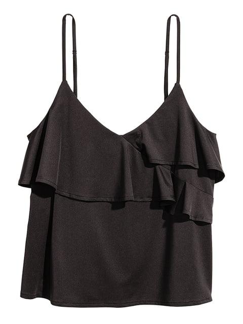 Топ черный H&M 5171090