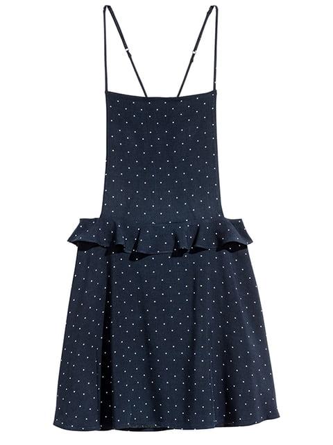 Сарафан темно-синий H&M 5171127