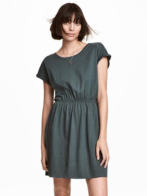 Платье серо-зеленое H&M 5171661