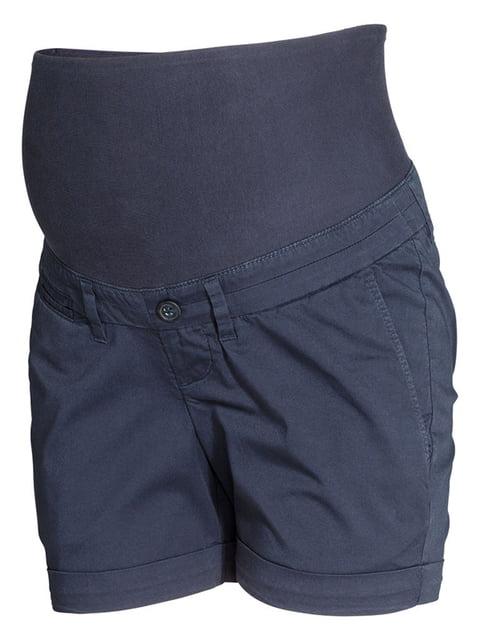 Шорты темно-синие H&M 5171676