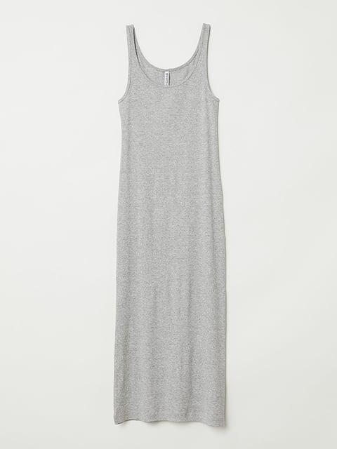Платье серое H&M 5171695