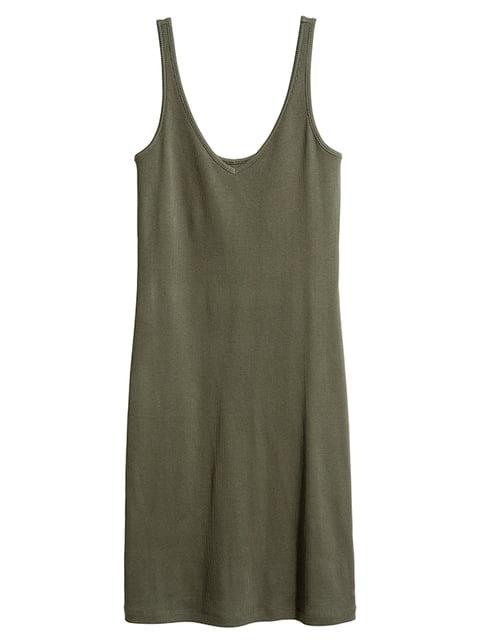 Платье цвета хаки H&M 5171790
