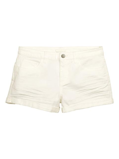 Шорты белые H&M 5171886