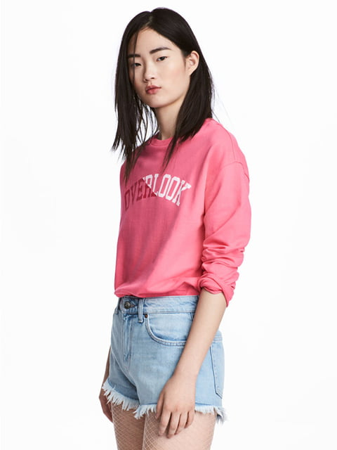 Свитшот розовый H&M 5172081