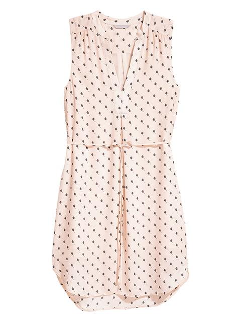 Платье цвета пудры H&M 5172187