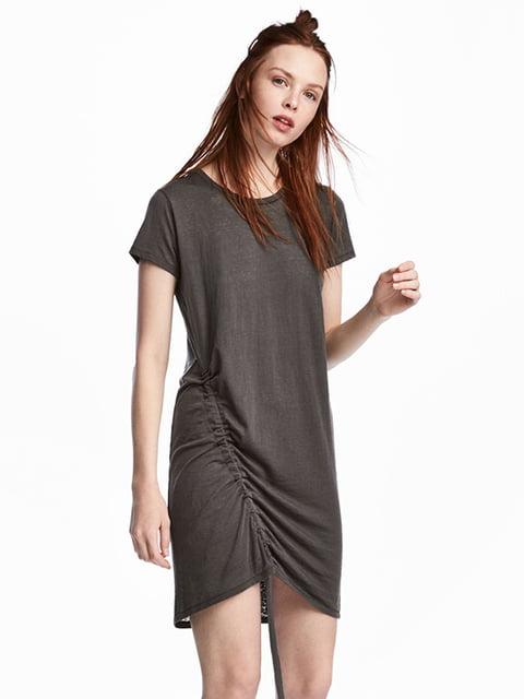Платье темно-серое H&M 5172221