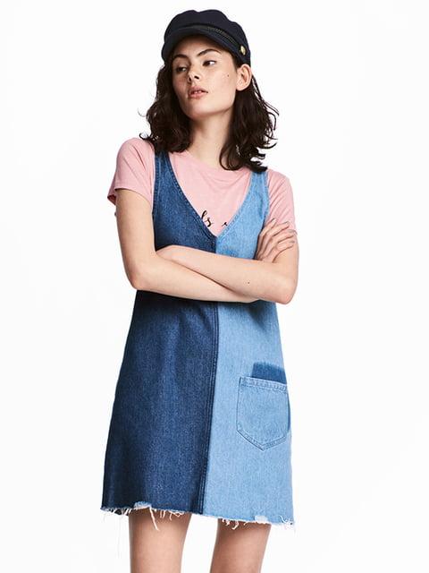 Платье синее H&M 5172296