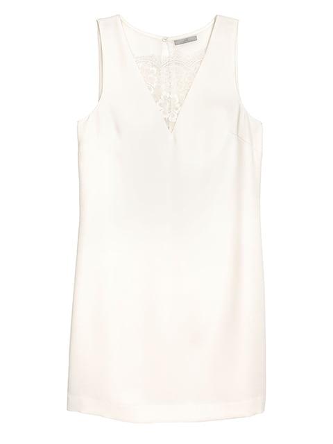 Платье молочного цвета H&M 5172311