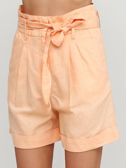 Шорты персикового цвета H&M 5172357