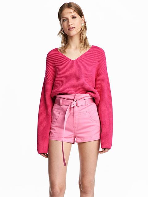 Шорты розовые H&M 5172530