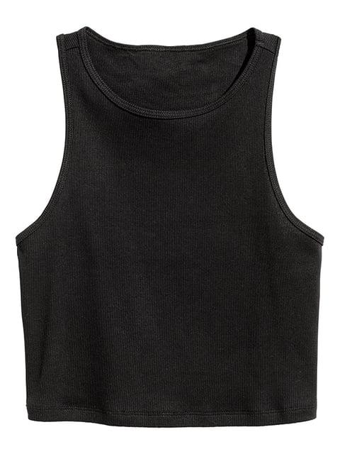 Майка черная H&M 5172559