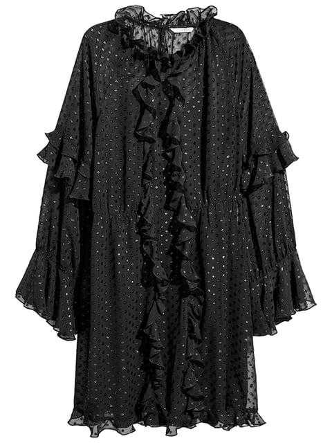 Платье черное H&M 5172692