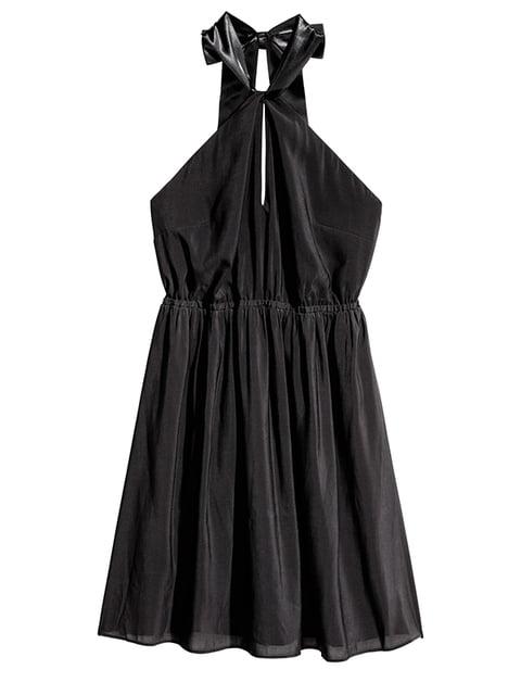 Платье черное H&M 5173031