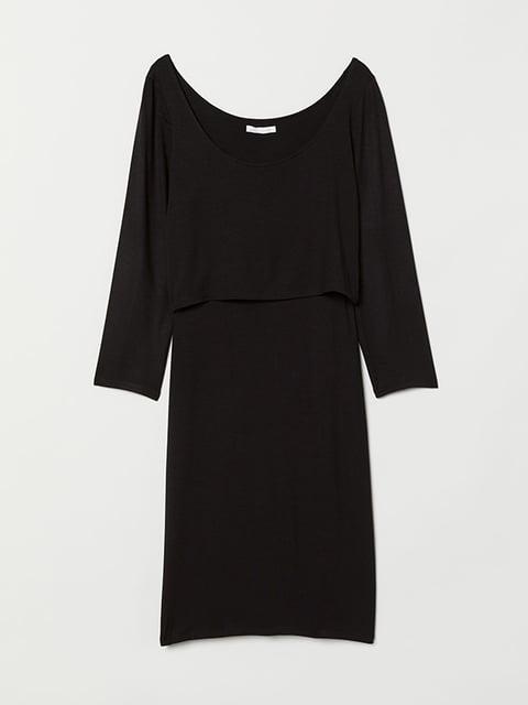 Платье черное H&M 5173130